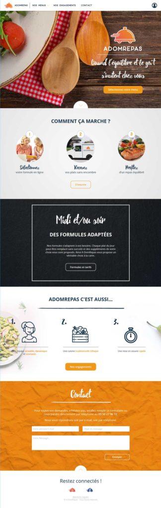 Site web ADOMREPAS