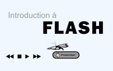 Introduction Flash - ANIMATIONS FLASH