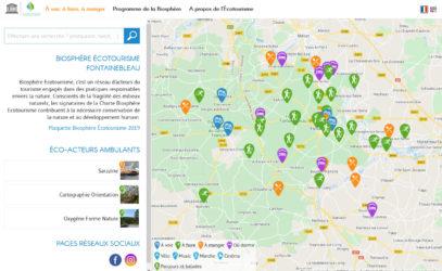 Site web BIOSPHÈRE ÉCOTOURISME